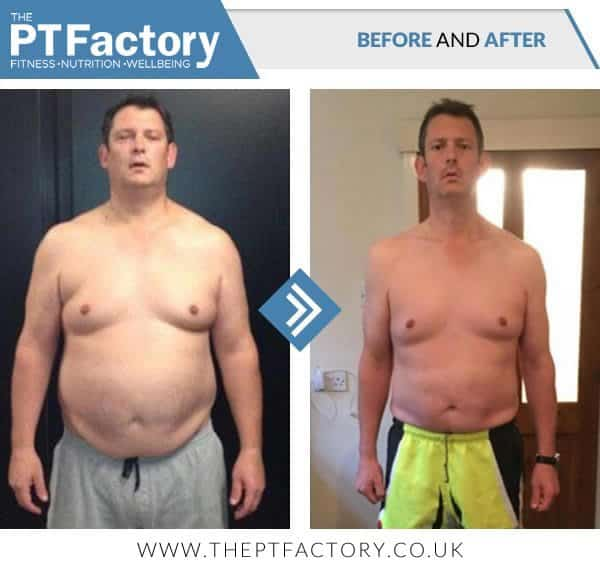 Before and After results with Ollie Lawrence PT